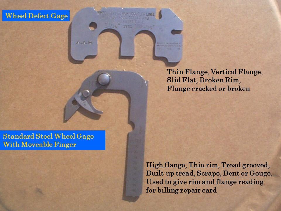 Thin Flange, Vertical Flange, Slid Flat, Broken Rim,