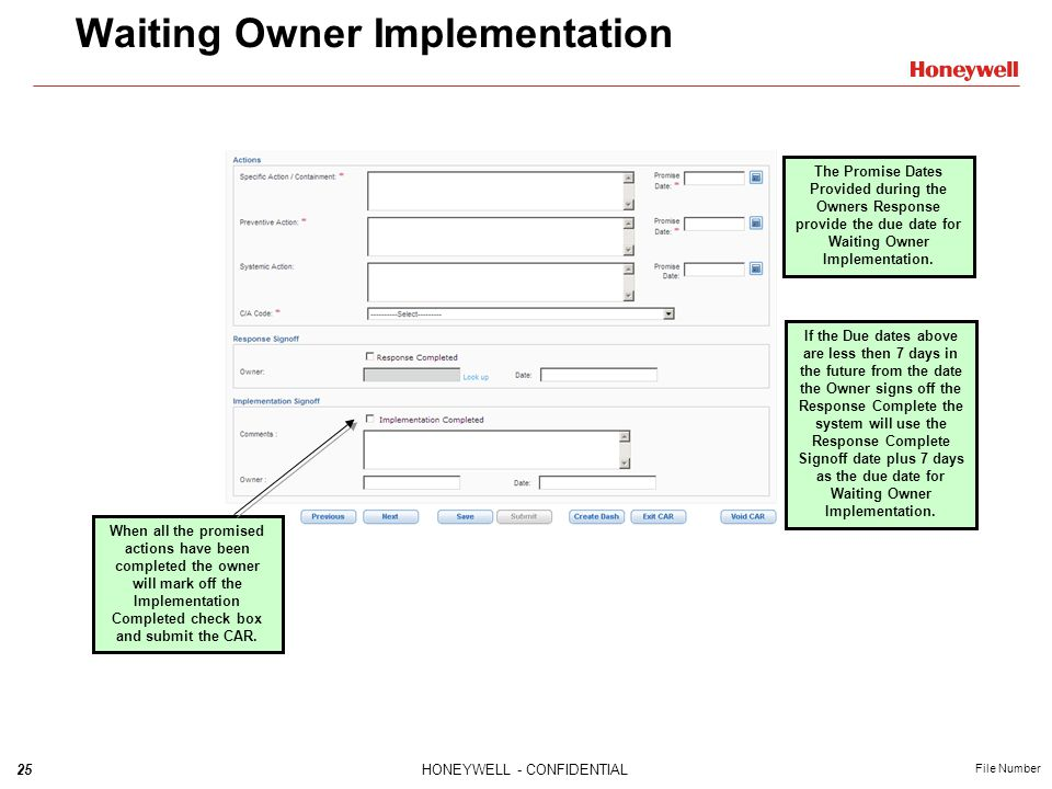 Waiting Owner Implementation