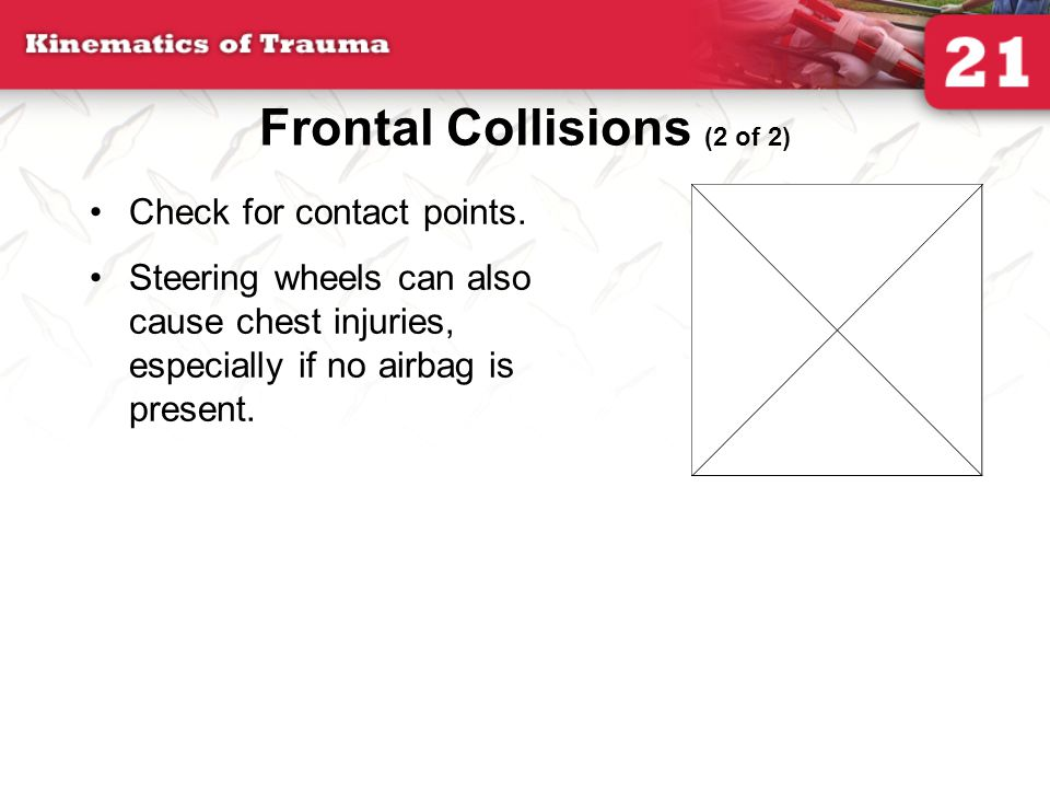 Frontal Collisions (2 of 2)