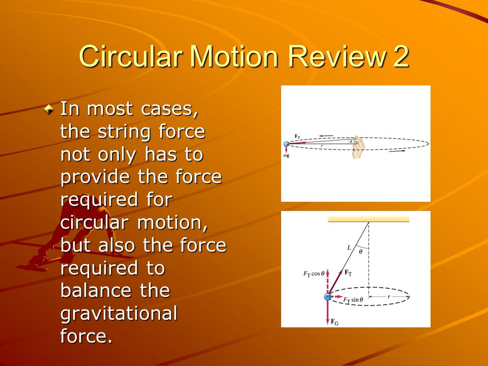Circular Motion Review 2