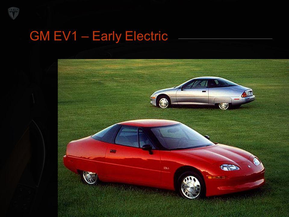 Internal Rivalry GM EV1 – Early Electric