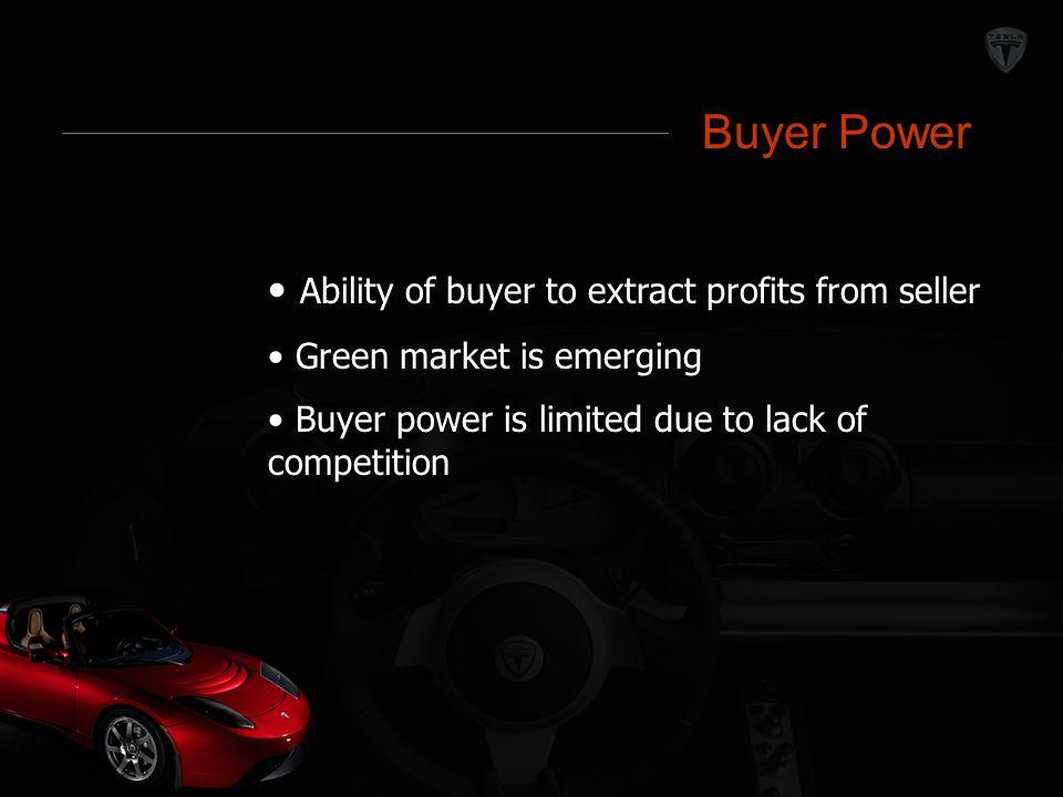 Buyer Power Buyer Power