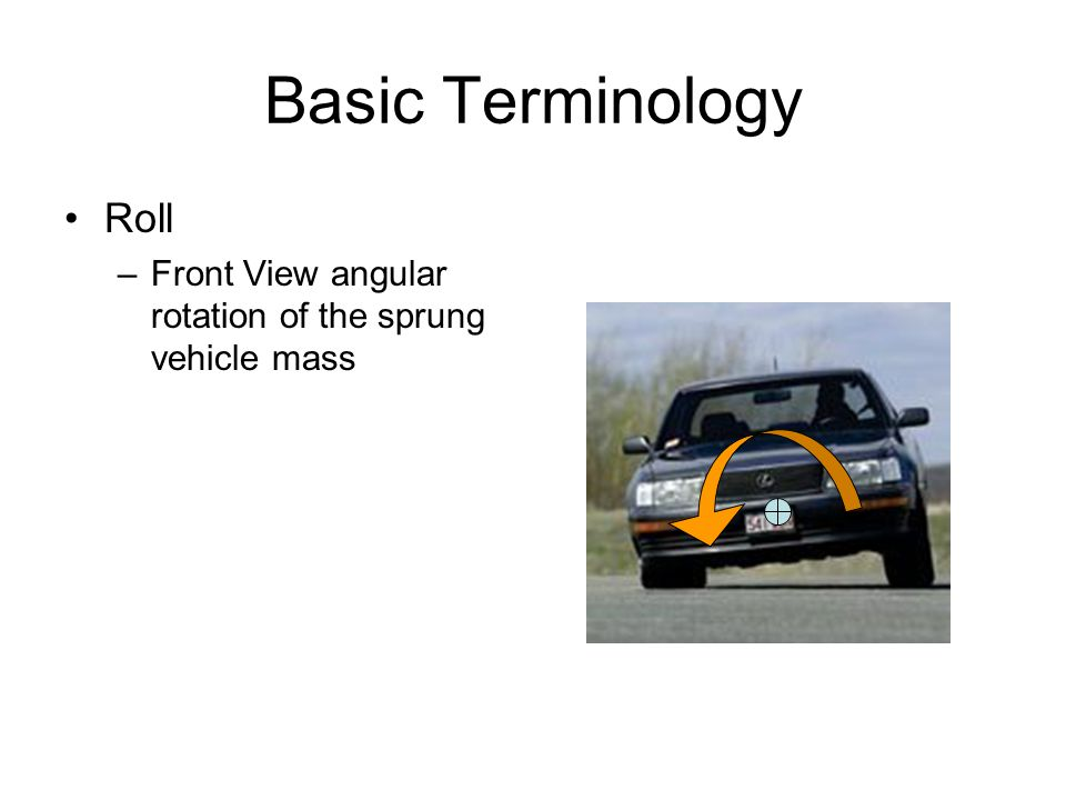 Basic Terminology Roll