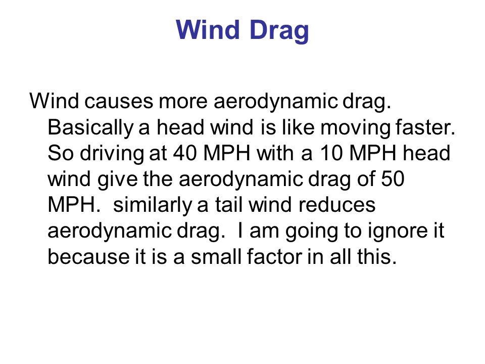 Wind Drag