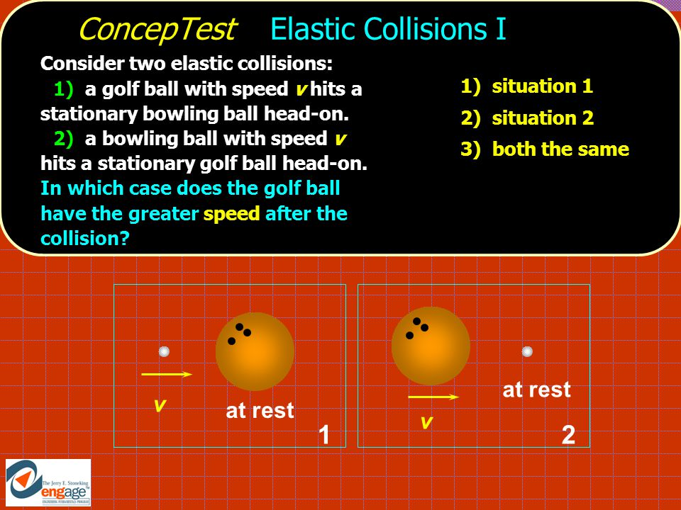 ConcepTest Elastic Collisions I