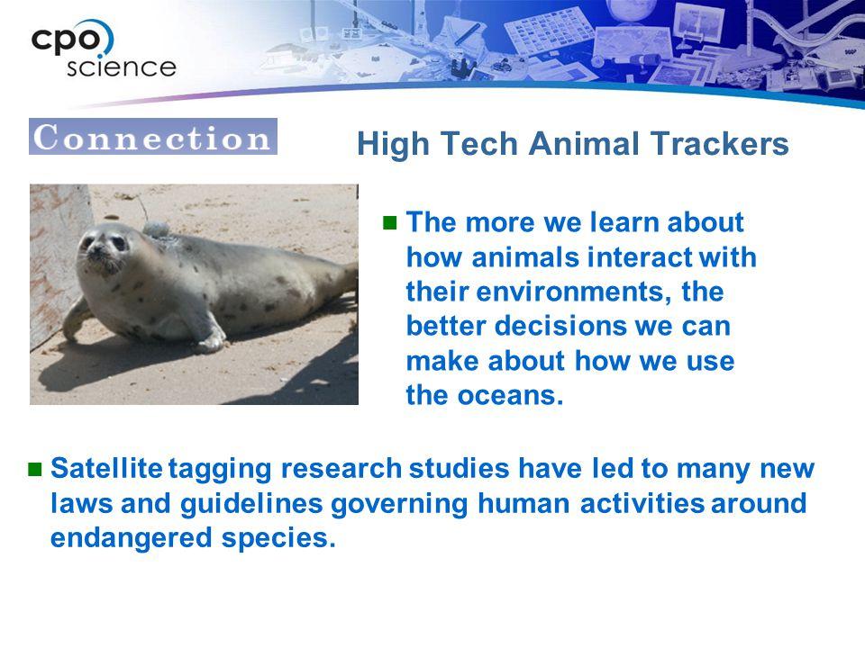 High Tech Animal Trackers
