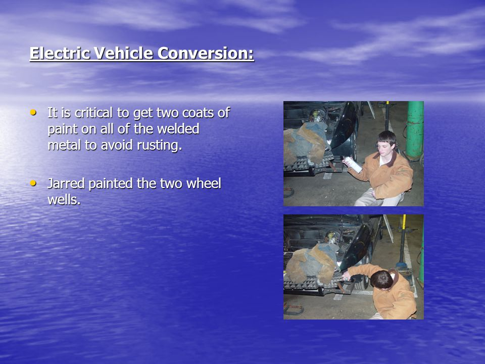 Electric Vehicle Conversion: