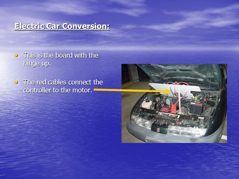 Electric Car Conversion: