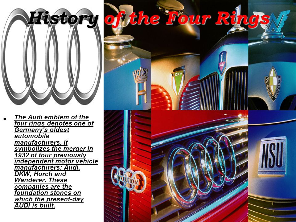 History of the Four Rings