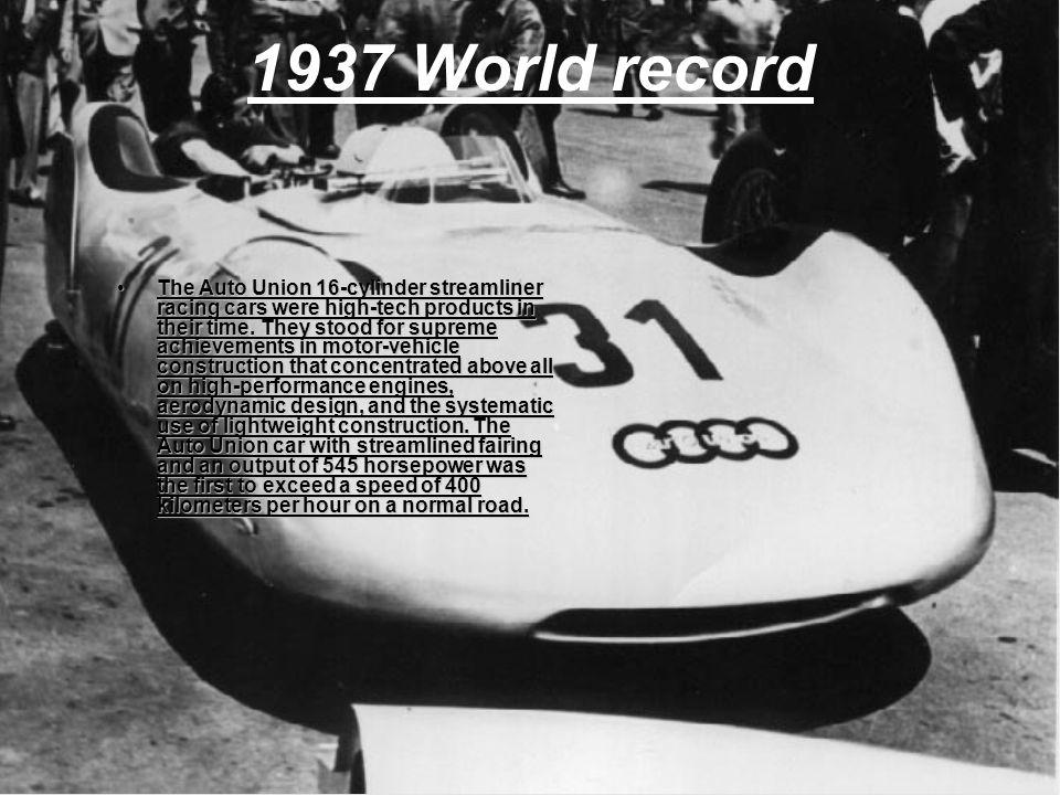 1937 World record