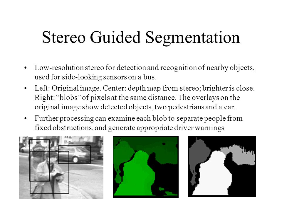 Stereo Guided Segmentation