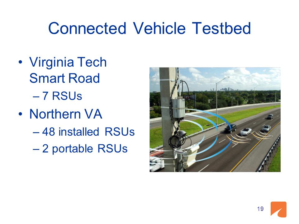 Connected Vehicle Testbed