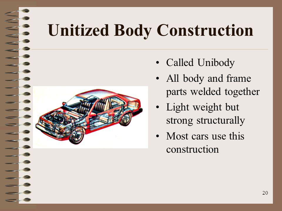 Unitized Body Construction