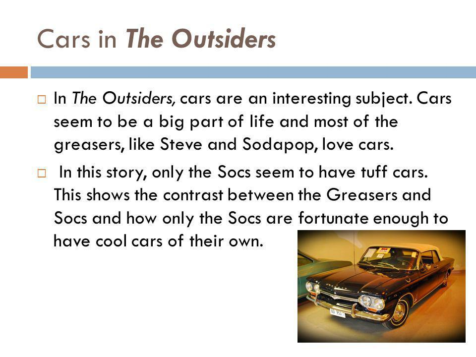 Cars in The Outsiders