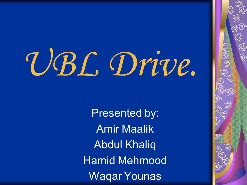 Presented by: Amir Maalik Abdul Khaliq Hamid Mehmood Waqar Younas