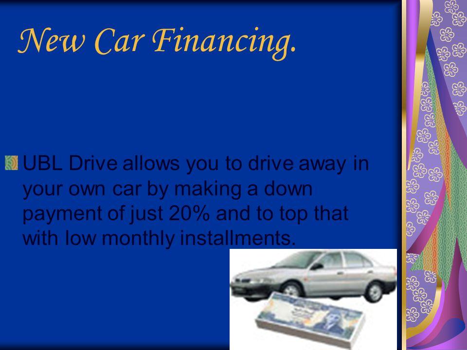 New Car Financing.