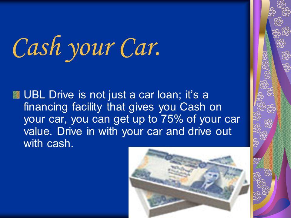 Cash your Car.