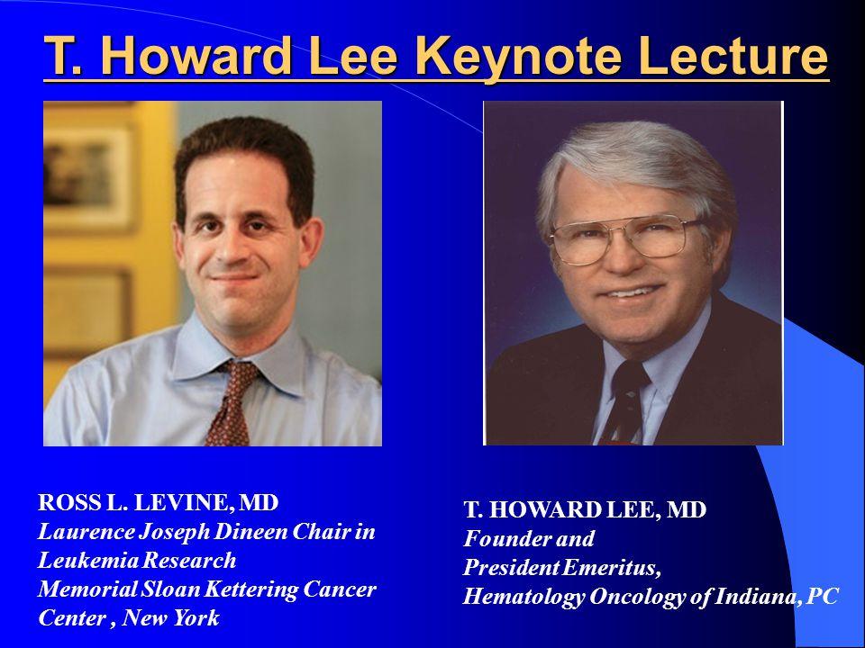 T. Howard Lee Keynote Lecture