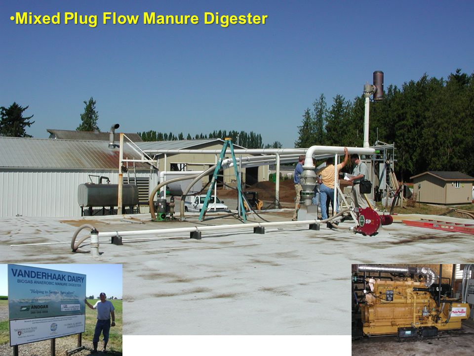 Mixed Plug Flow Manure Digester