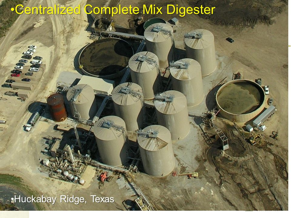 Centralized Complete Mix Digester