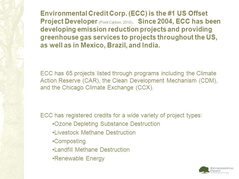 Environmental Credit Corp
