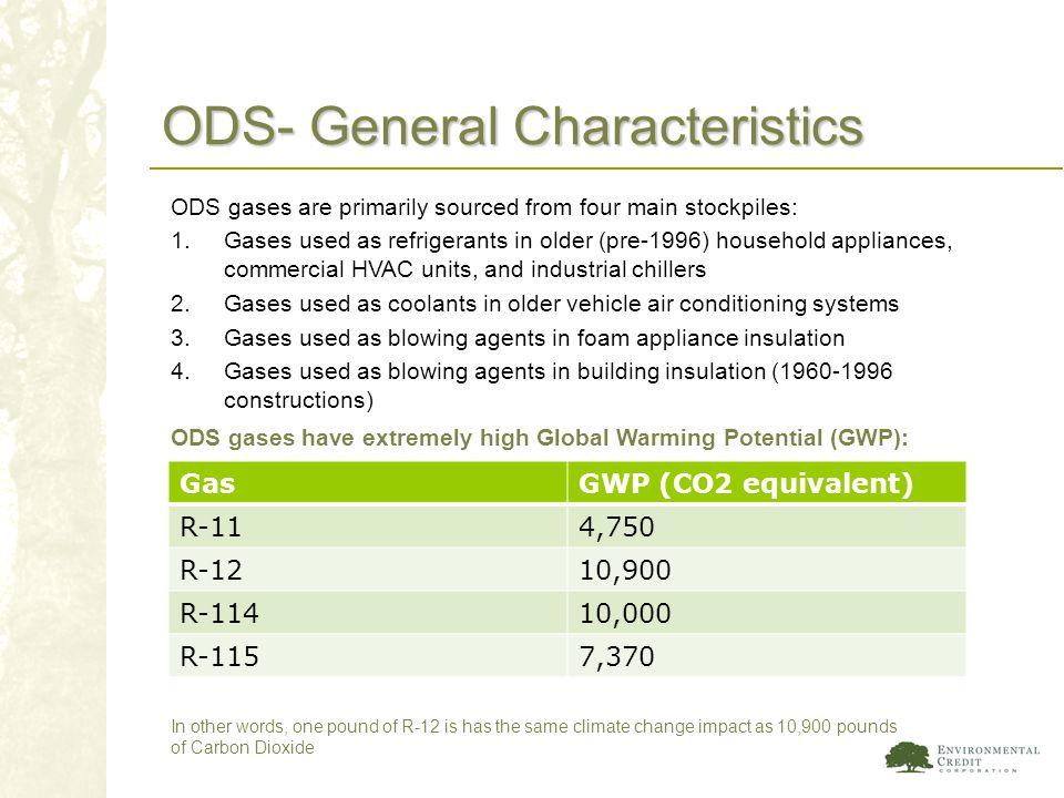 ODS- General Characteristics