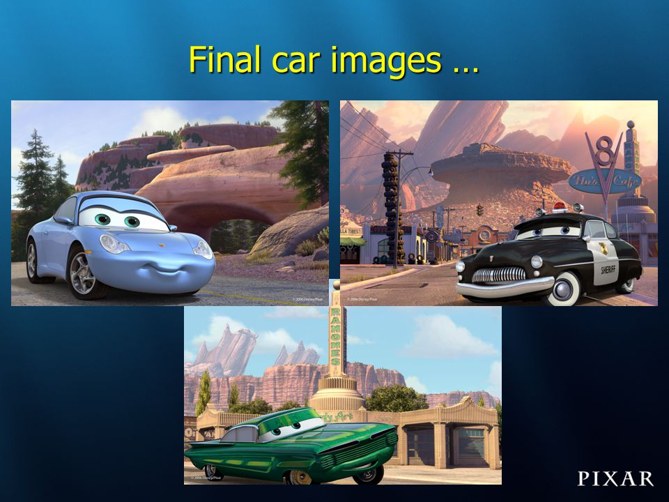 Final car images …