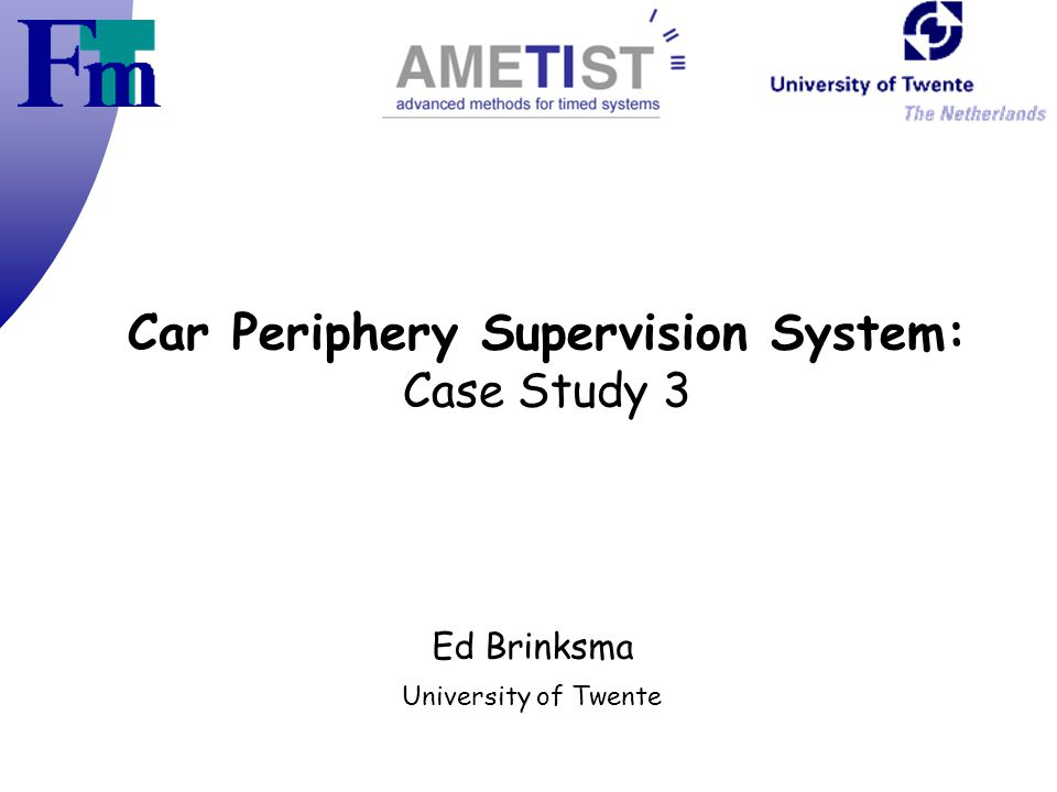 Car Periphery Supervision System: Case Study 3