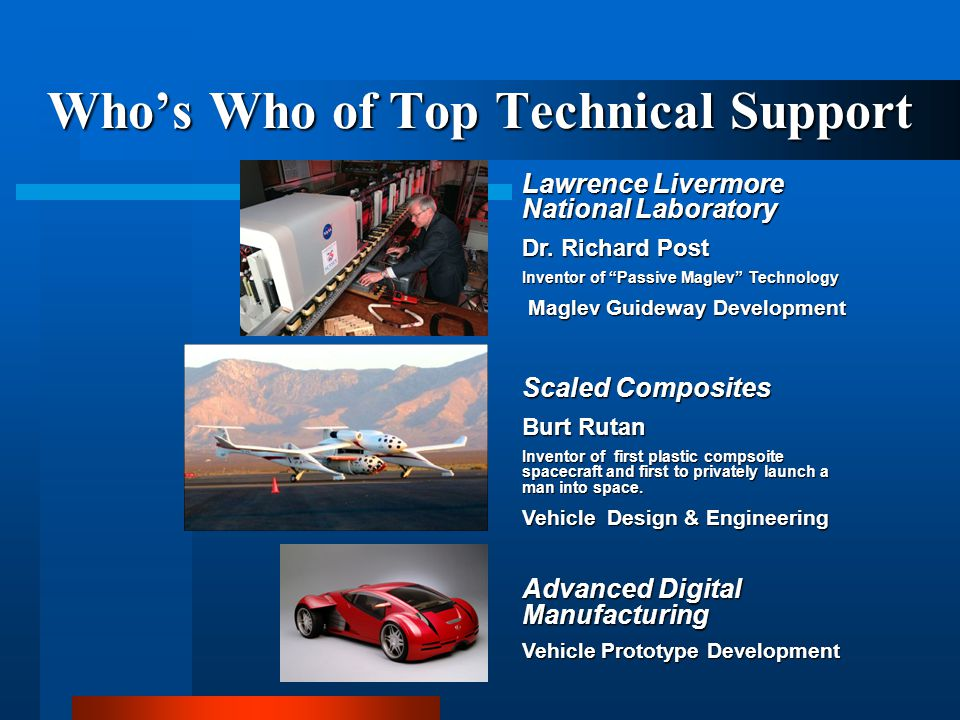 Who's Who of Top Technical Support