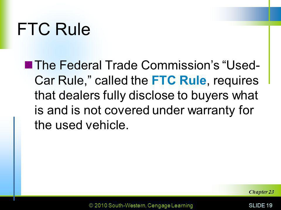 FTC Rule