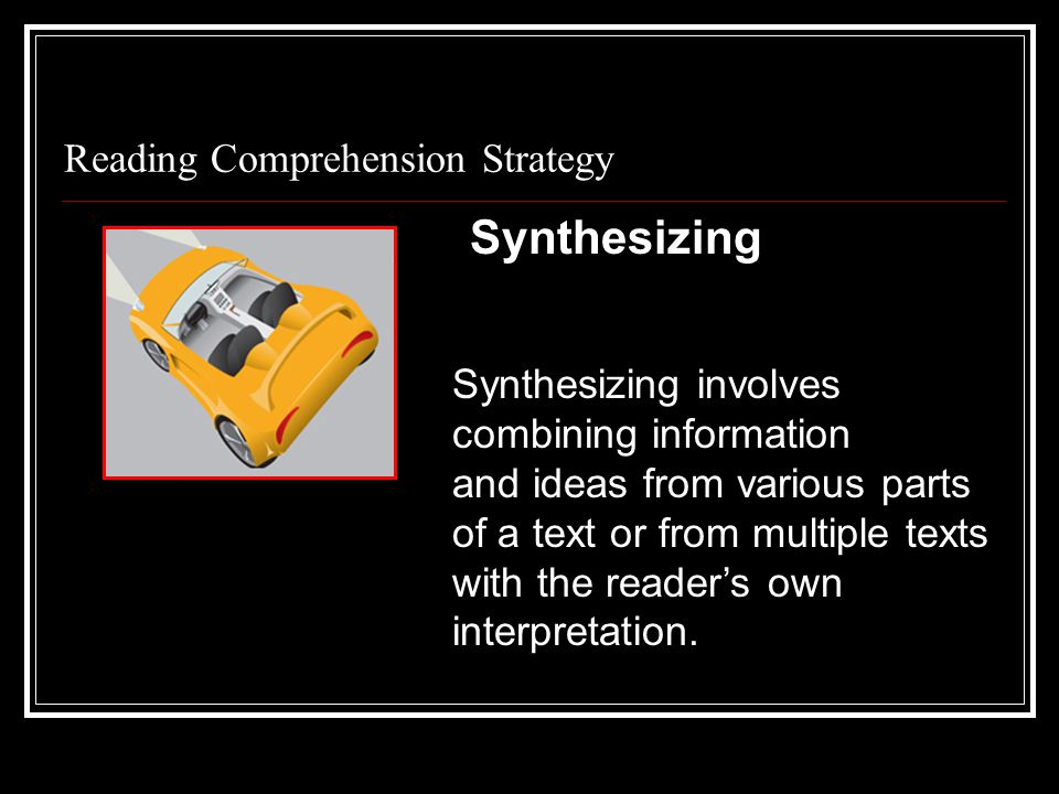 Reading Comprehension Strategy