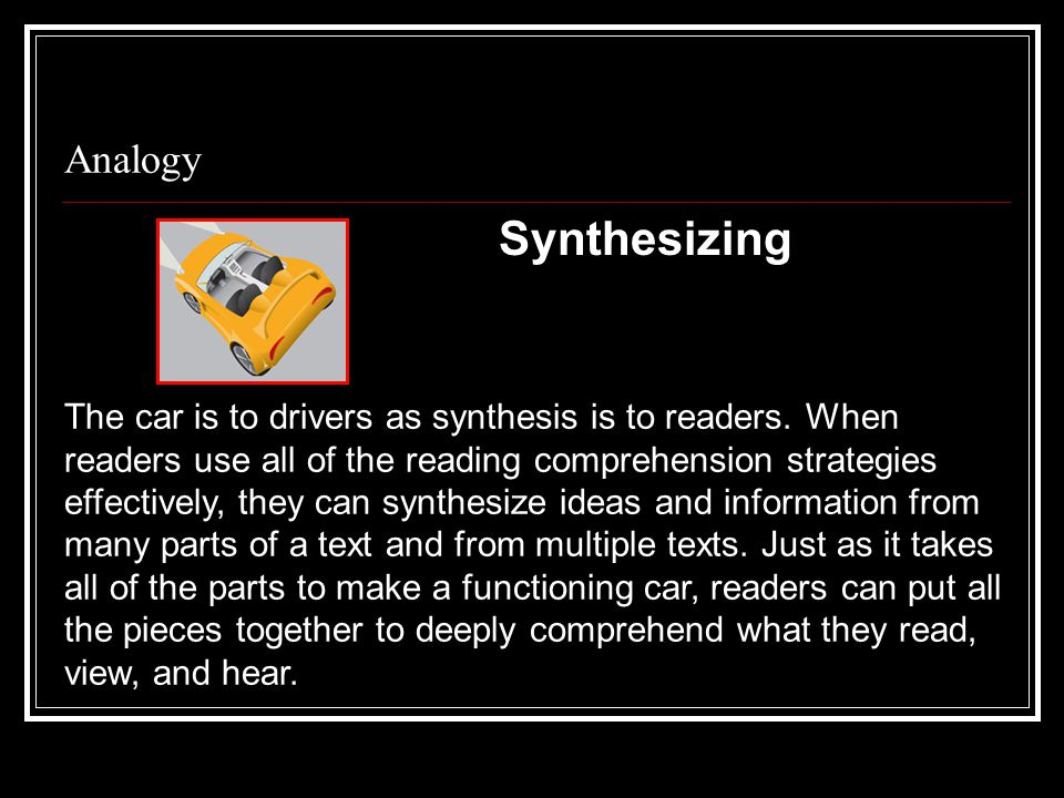 Analogy Synthesizing.