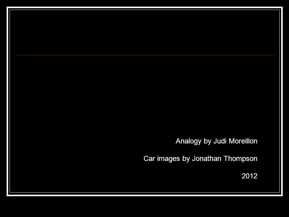 Analogy by Judi Moreillon