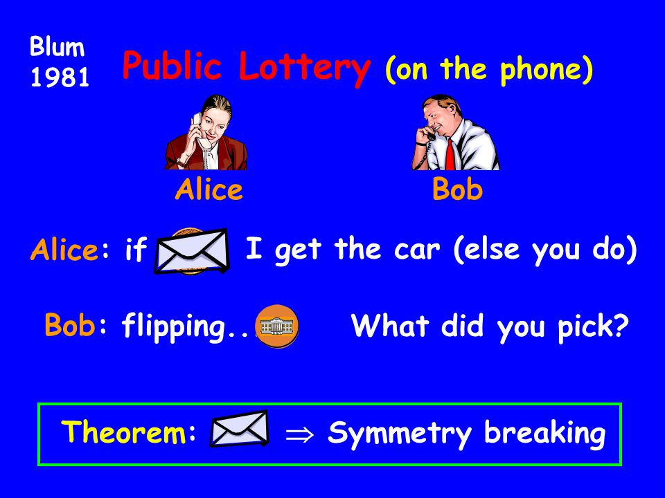 Public Lottery (on the phone)