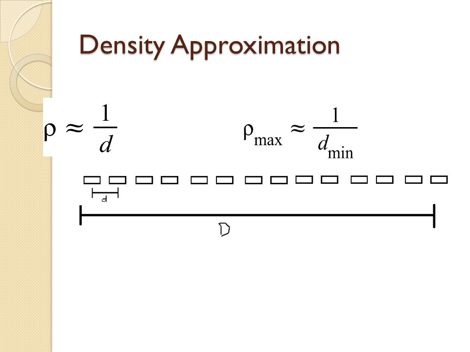 Density Approximation