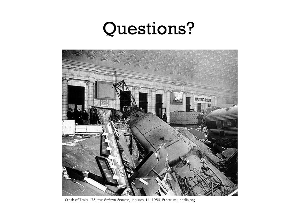 Questions Show example on board