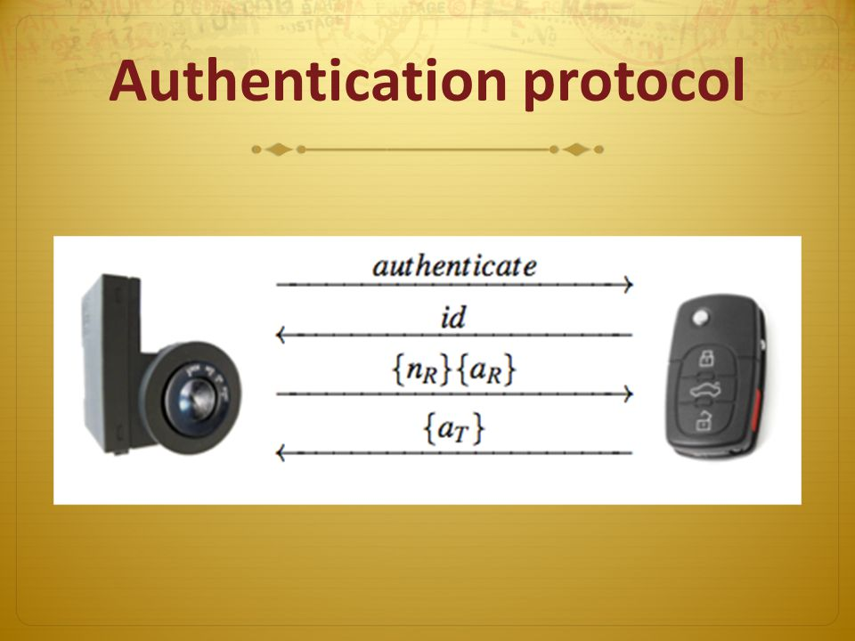Authentication protocol