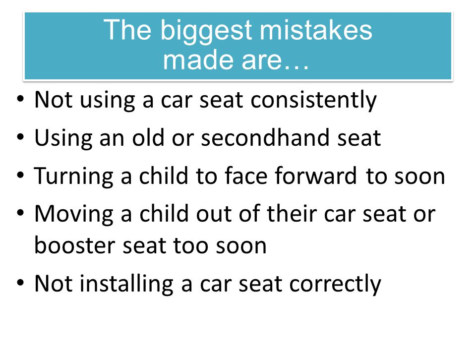 The biggest mistakes made are…