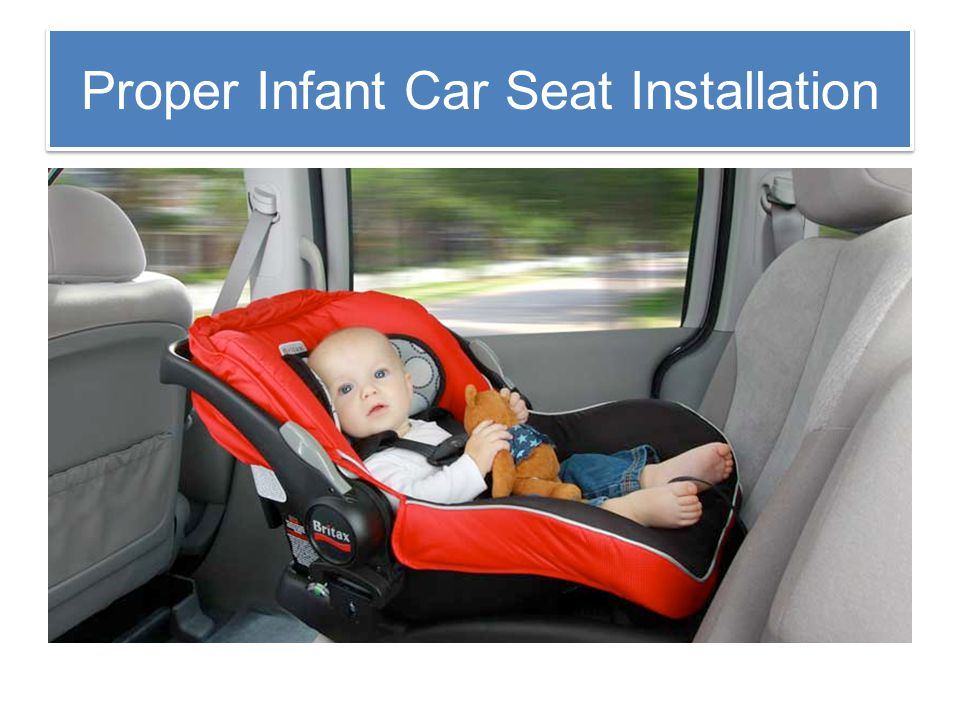 Car Seat Safety Ppt