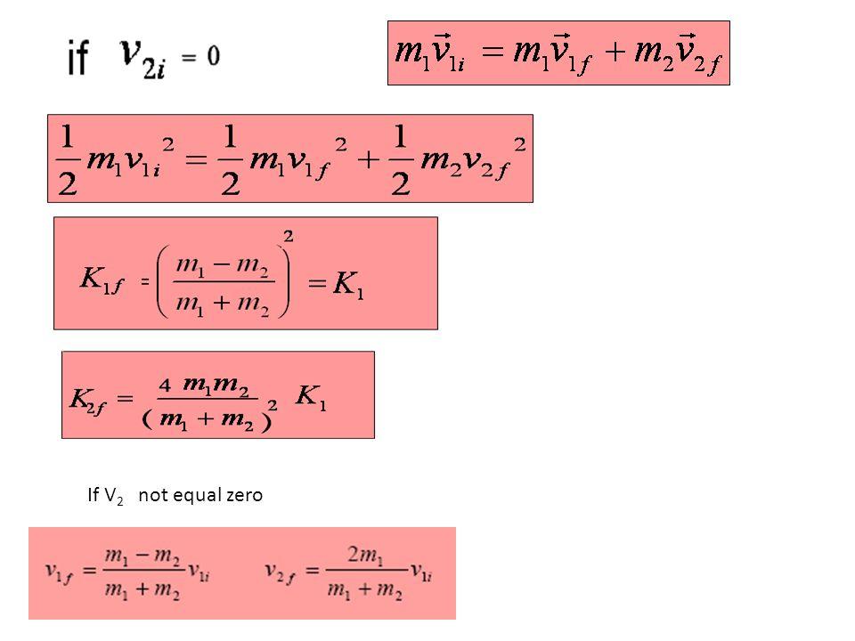 If V2 not equal zero