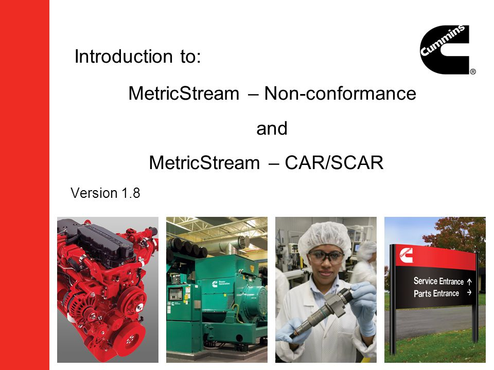 MetricStream – Non-conformance and MetricStream – CAR/SCAR