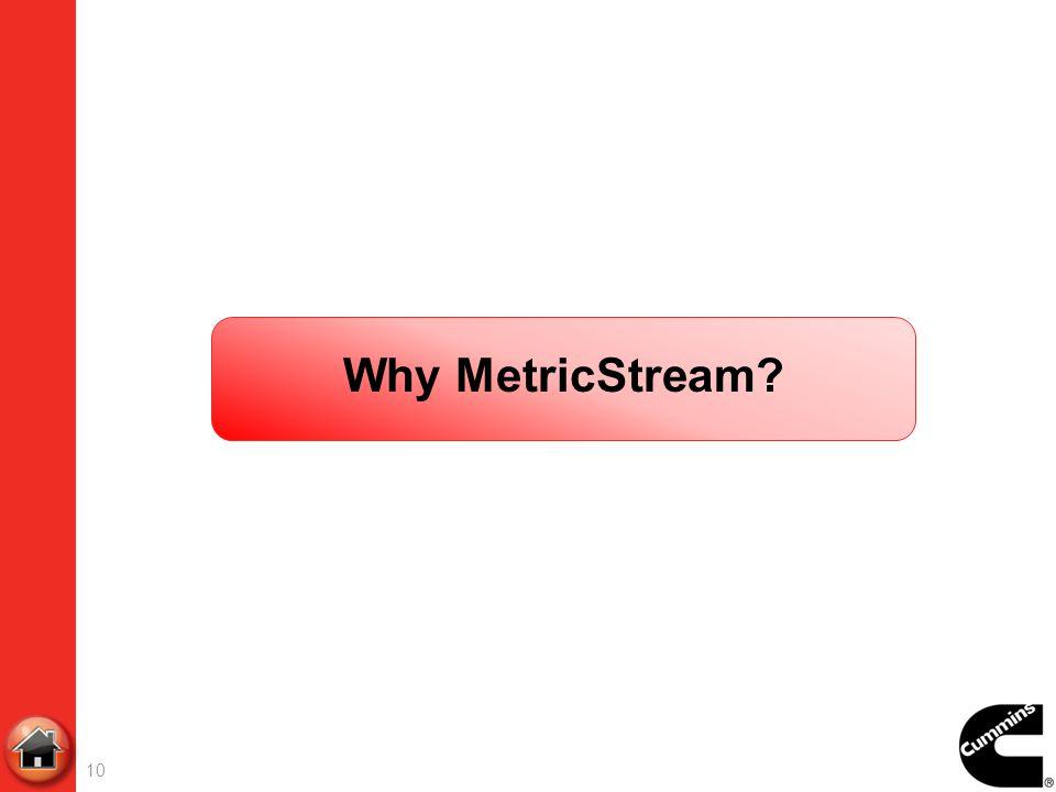 Why MetricStream