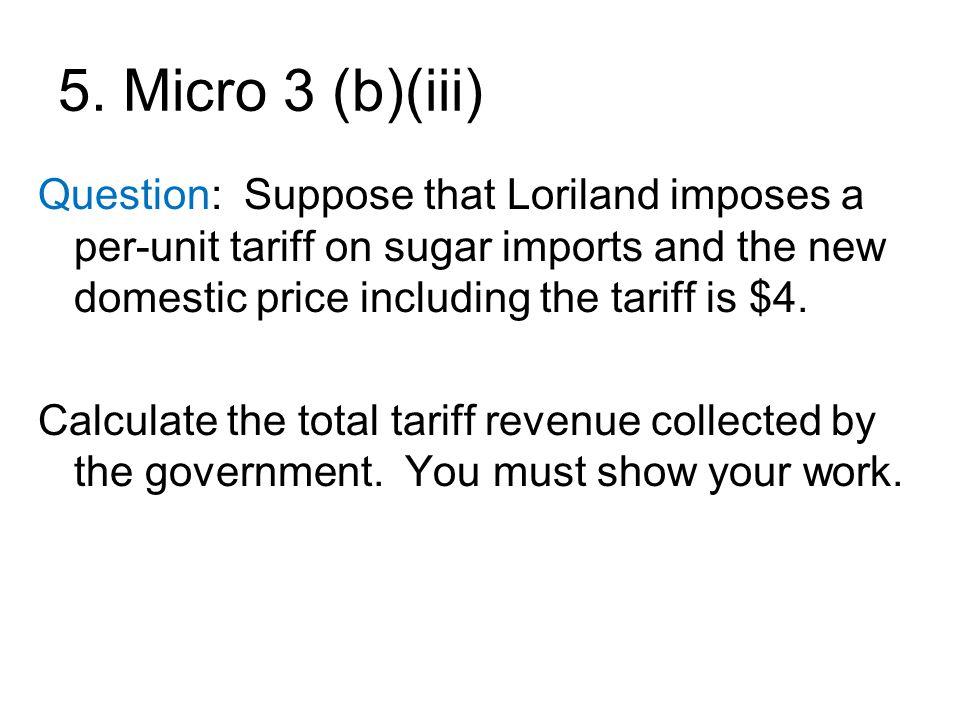 5. Micro 3 (b)(iii)