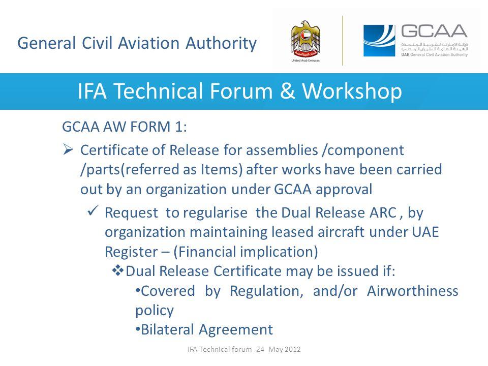 IFA Technical Forum & Workshop