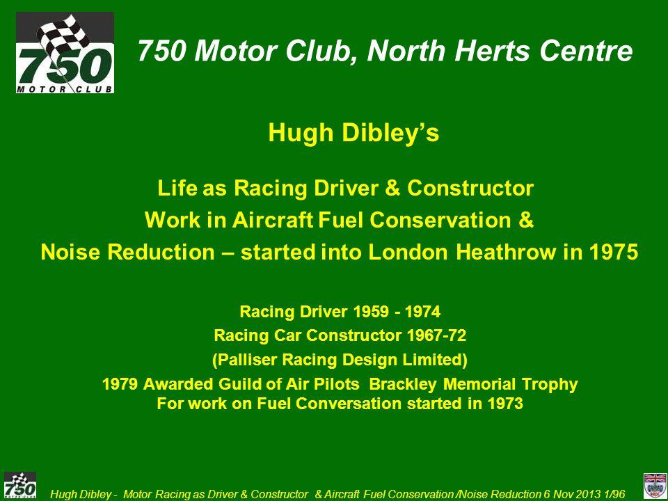 750 Motor Club, North Herts Centre