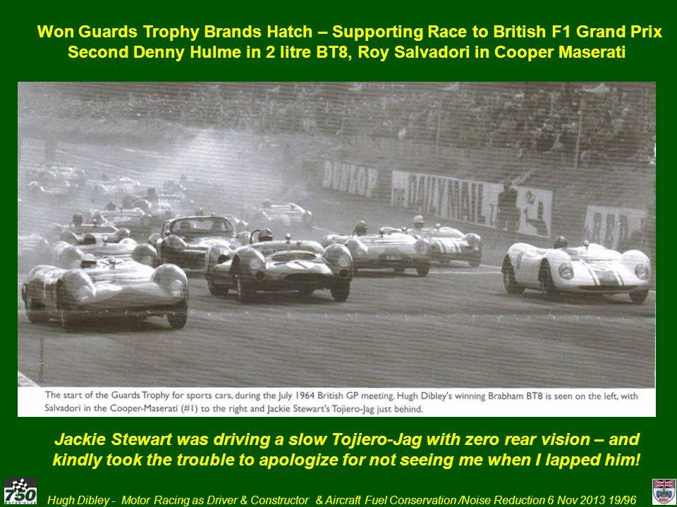 Second Denny Hulme in 2 litre BT8, Roy Salvadori in Cooper Maserati