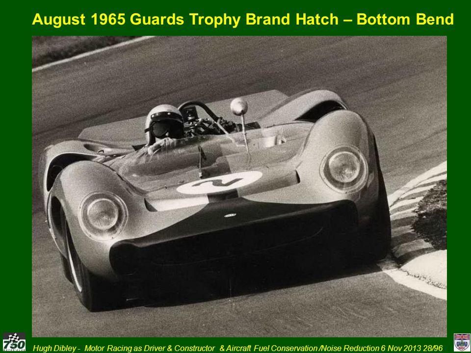 August 1965 Guards Trophy Brand Hatch – Bottom Bend