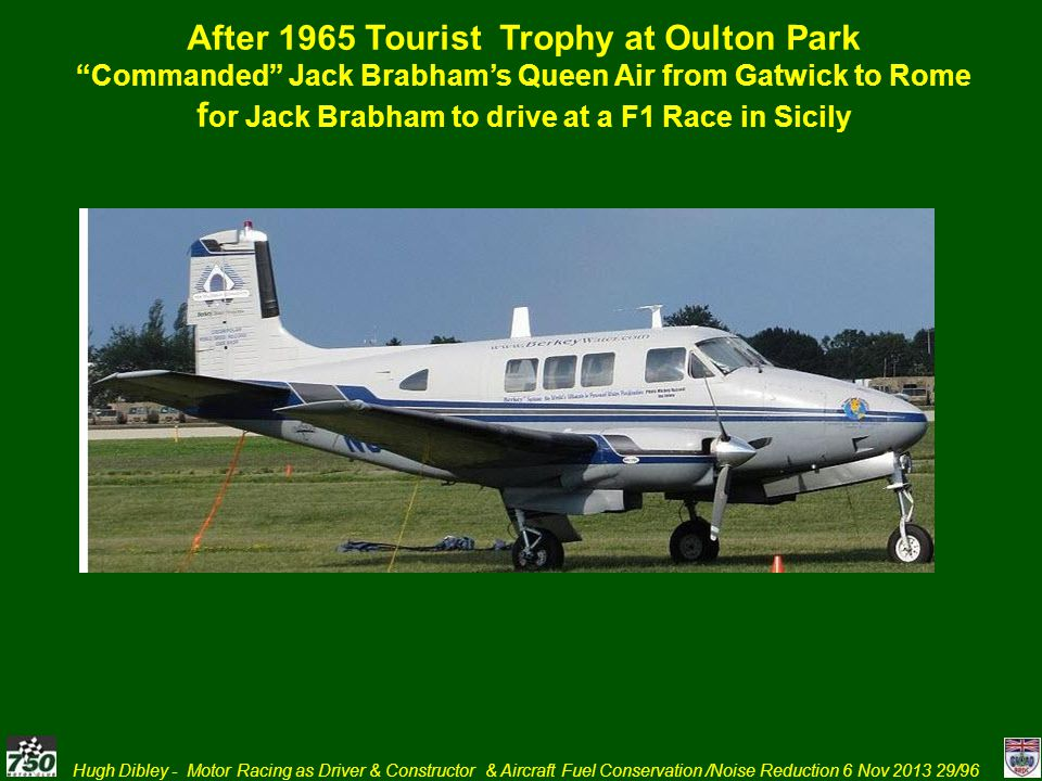 After 1965 Tourist Trophy at Oulton Park