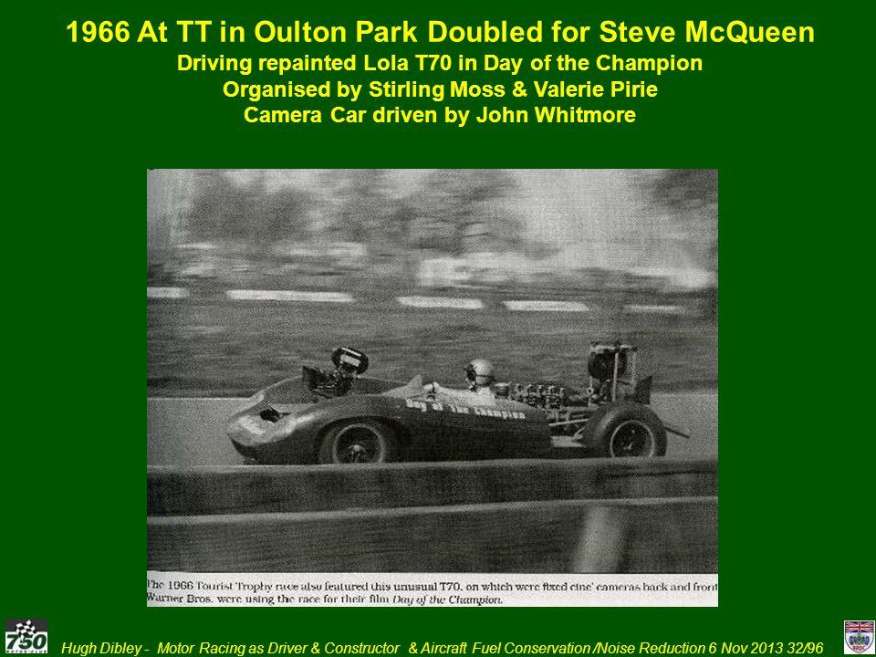 1966 At TT in Oulton Park Doubled for Steve McQueen