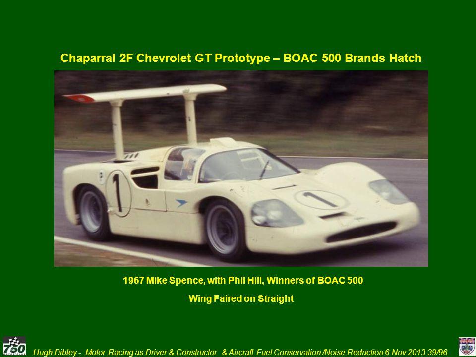 Chaparral 2F Chevrolet GT Prototype – BOAC 500 Brands Hatch